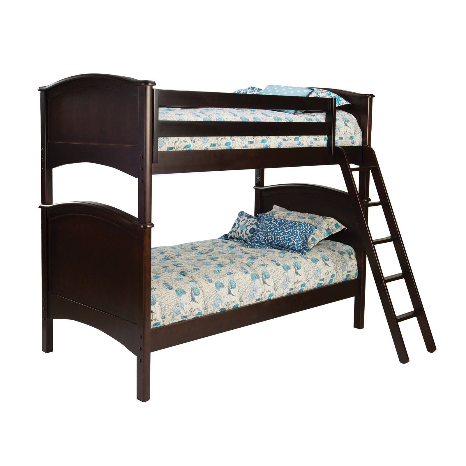 Cooley Twin over Twin Bunk Bed VER079 Bunk beds, Twin