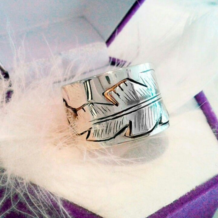 Bague PLUME - FEATHER ring