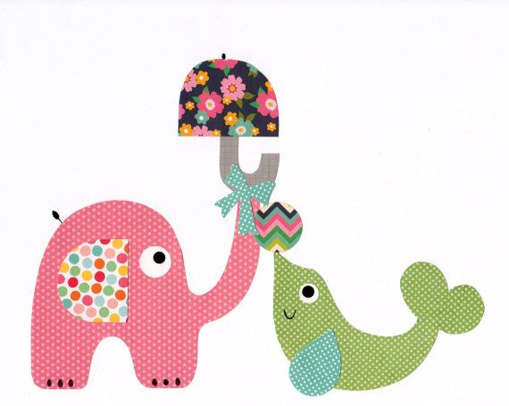 Colorful Animal Nursery Artwork Print // Baby Room Decoration // Kids Room Decoration // Gifts Under 20 // Little Boys Room wall art on Etsy, $14.00