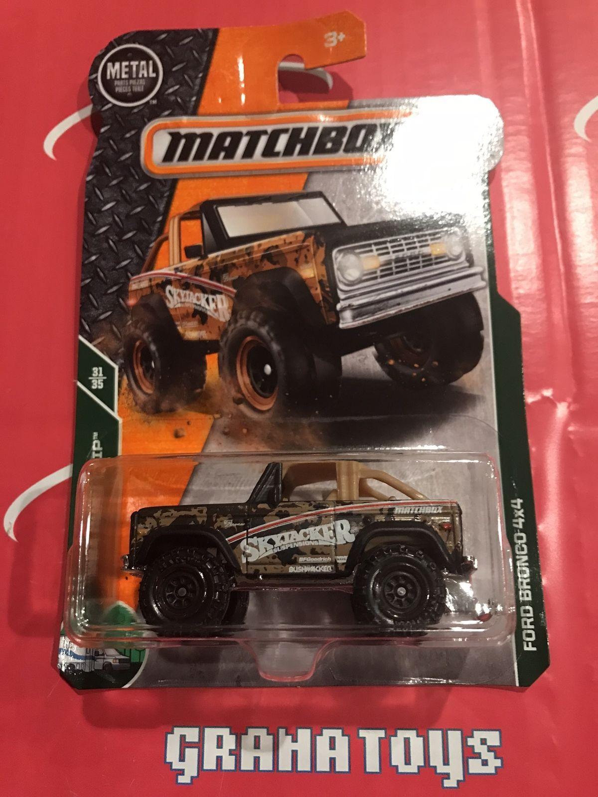 Ford Bronco X  Road Trip  Matchbox Case B ebay