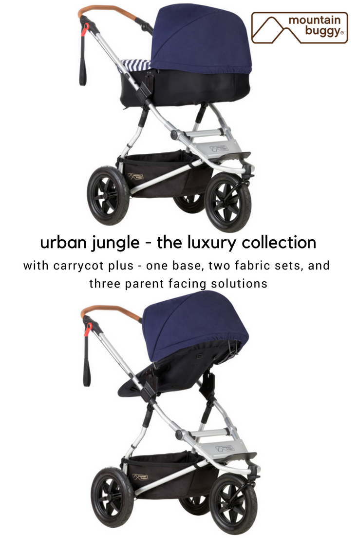Mountain Buggy Double Kit Carrycot Plus For Urban Jungle Terrain And One Mountain