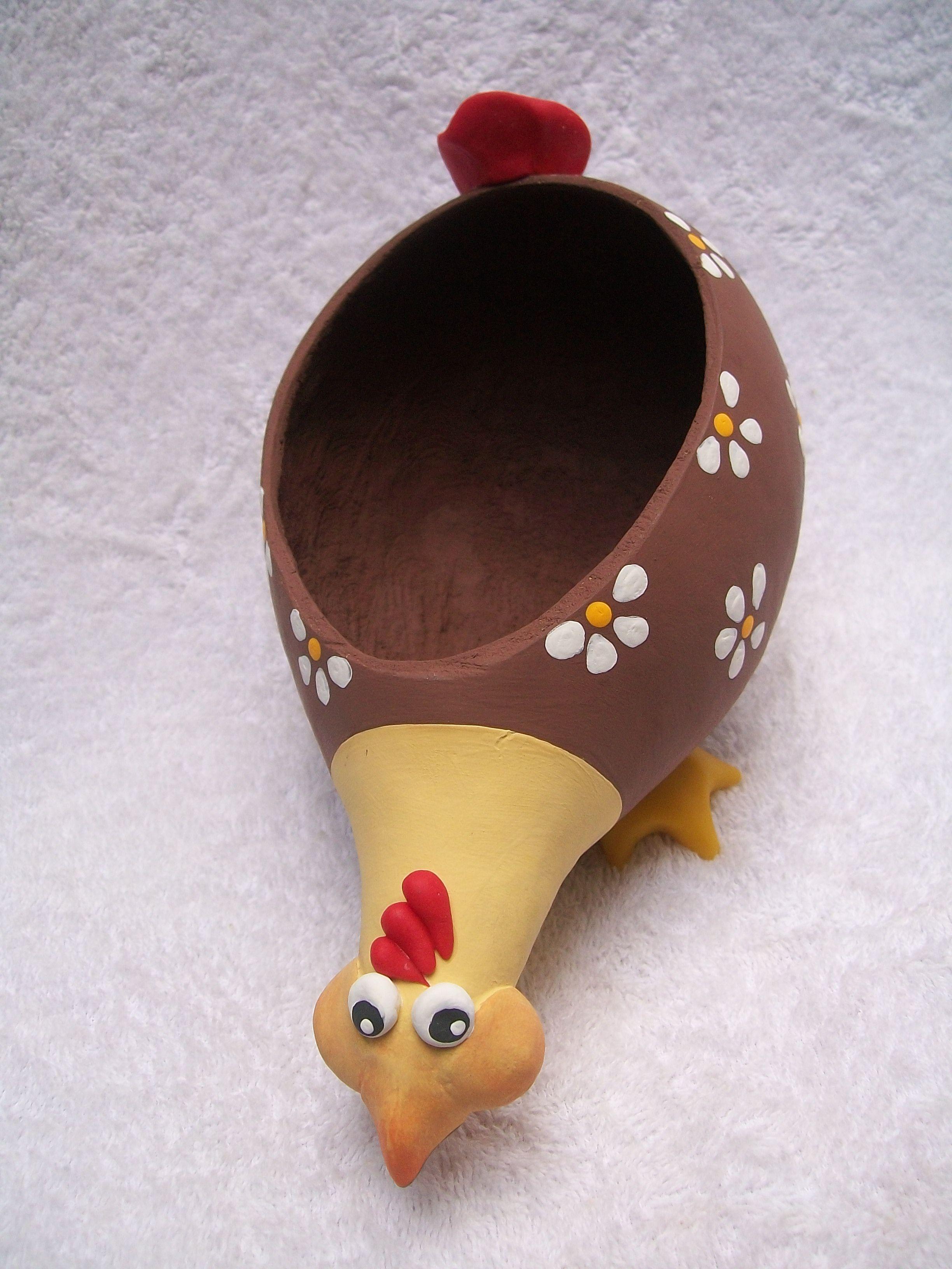 Excepcional artesanato galinhas em cabaça passo a passo - Pesquisa Google  PI51