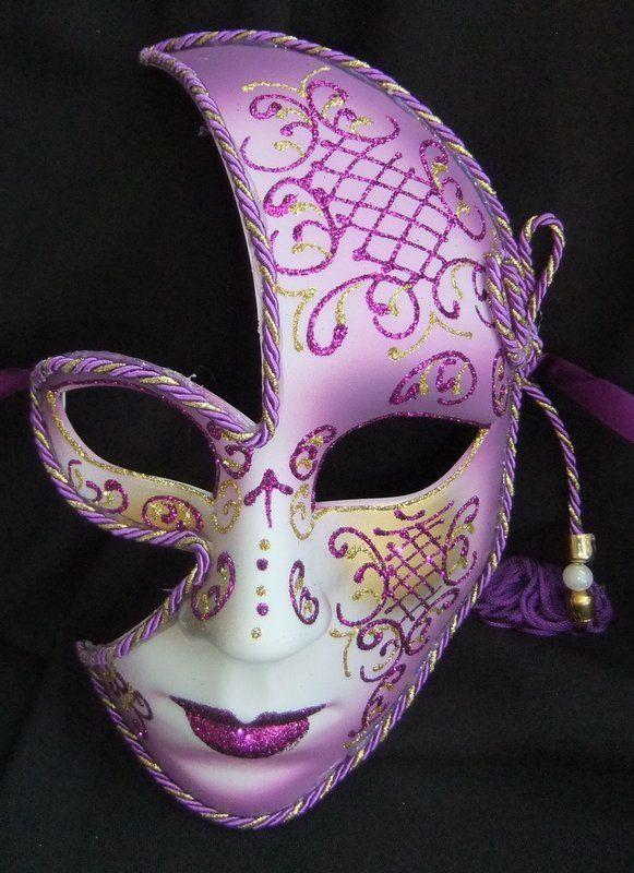 Purple Masquerade Costume
