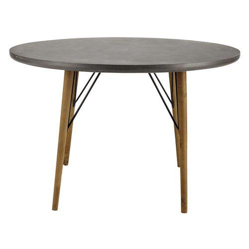 Runder Esstisch für 4 Personen aus Holz, D120   Runder esstisch ...