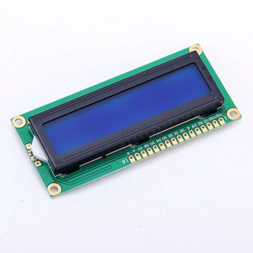 New Character LCD Module Display LCM 1602 16X2 HD44780 Blue Blacklight