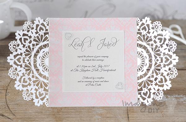 How To Make Arabesque Laser Cut Invitation Diy Wedding