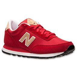 Men's New Balance 501 Casual Running Shoes | FinishLine.com | Red