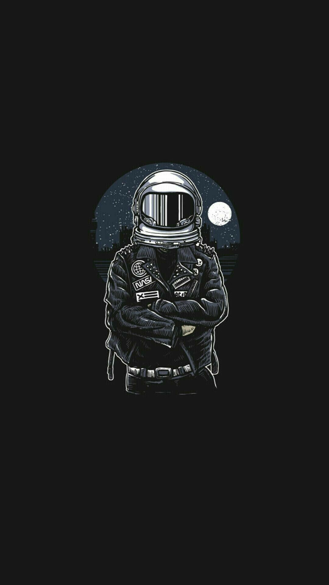 List Of Most Downloaded Black Wallpaper For Android Phone Today Astronaut Wallpaper Wallpaper Space Astronaut Art