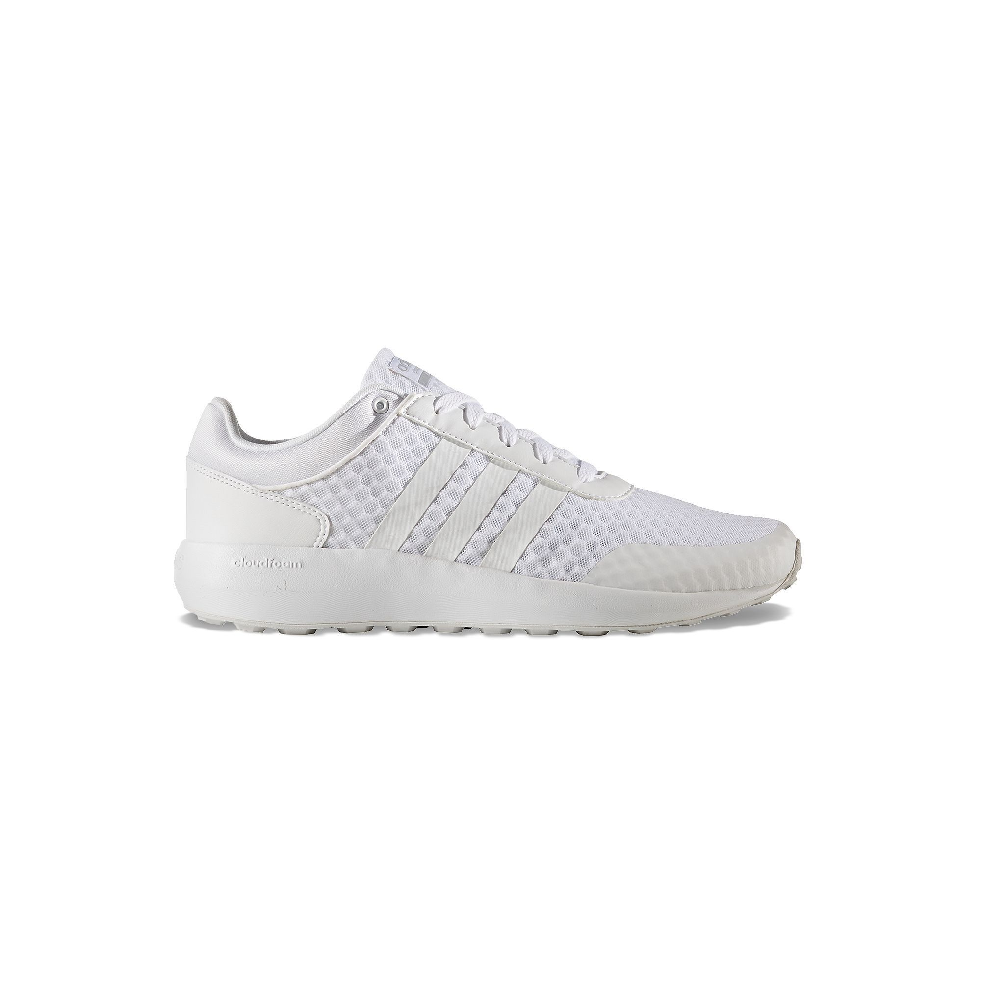 Adidas NEO Cloudfoam Race Men's Sneakers, Size: 12, White
