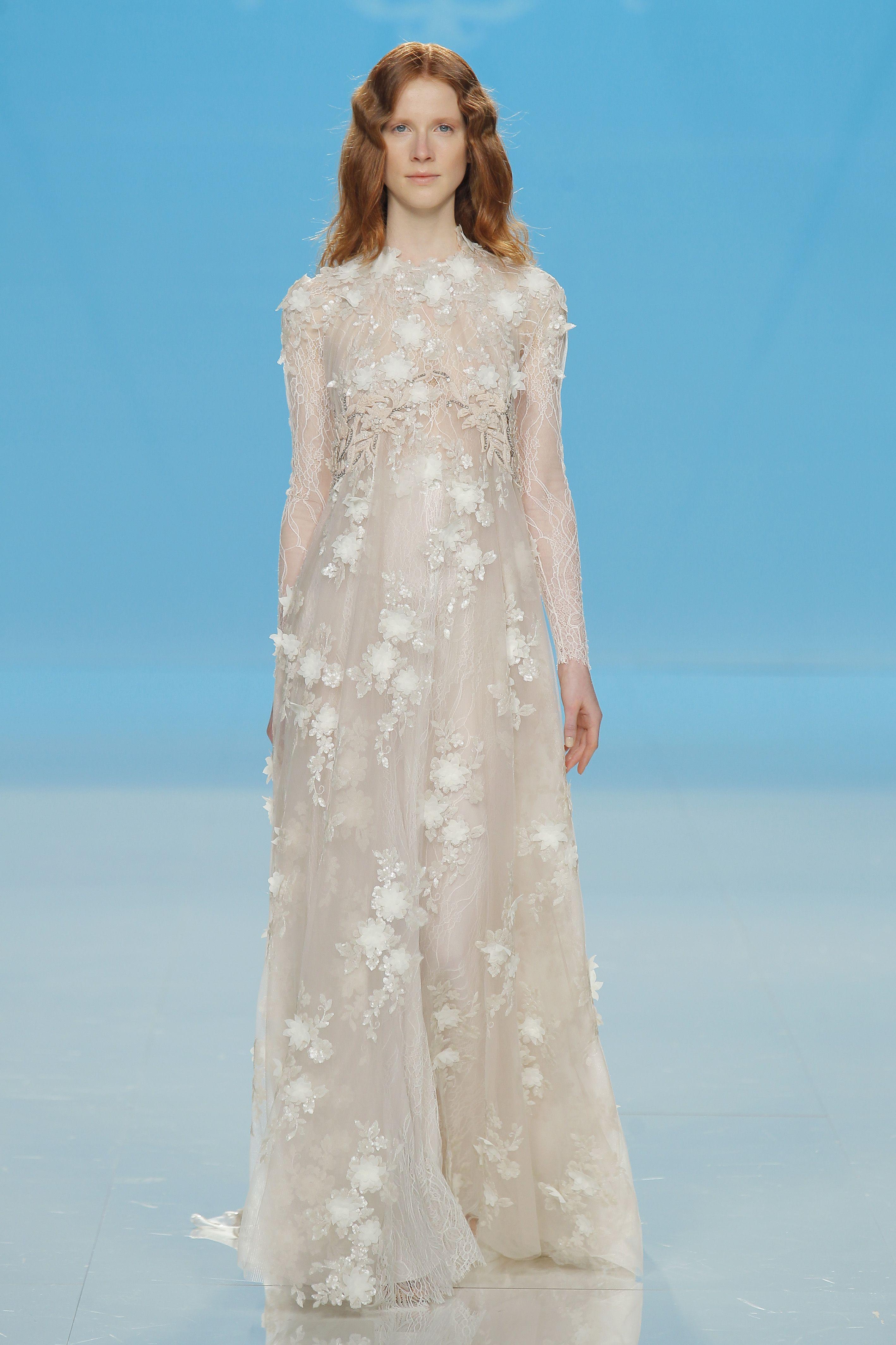 Marco & Maria at Barcelona Bridal Fashion Week | Vestijoyas | Pinterest
