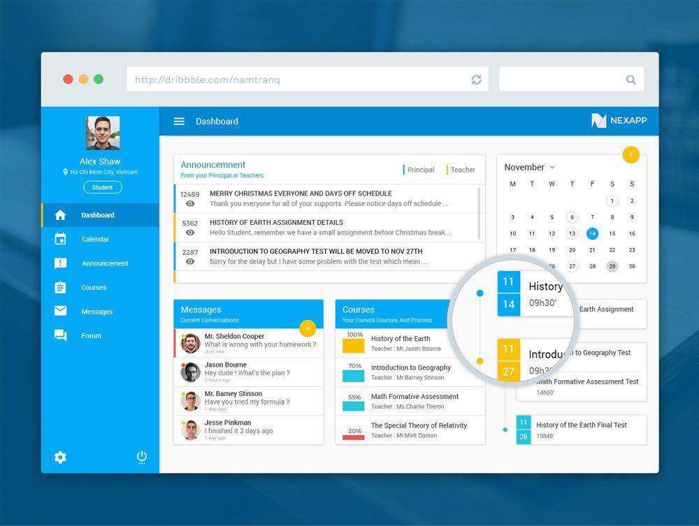 Free Admin Dashboard Tablet UI Design   Misc   Pinterest   Tablet ...