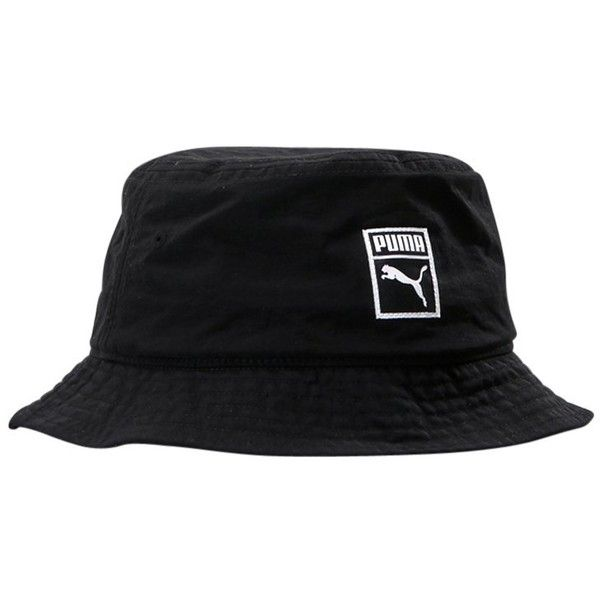 a12a87690849c Puma ARCHIVE BUCKET HAT Hatt ❤ liked on Polyvore featuring accessories