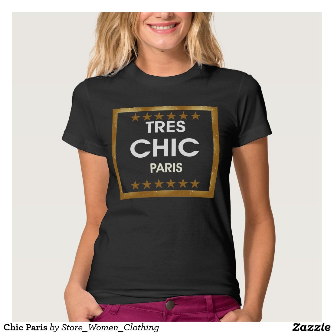 #Chic #Paris #T-shirt