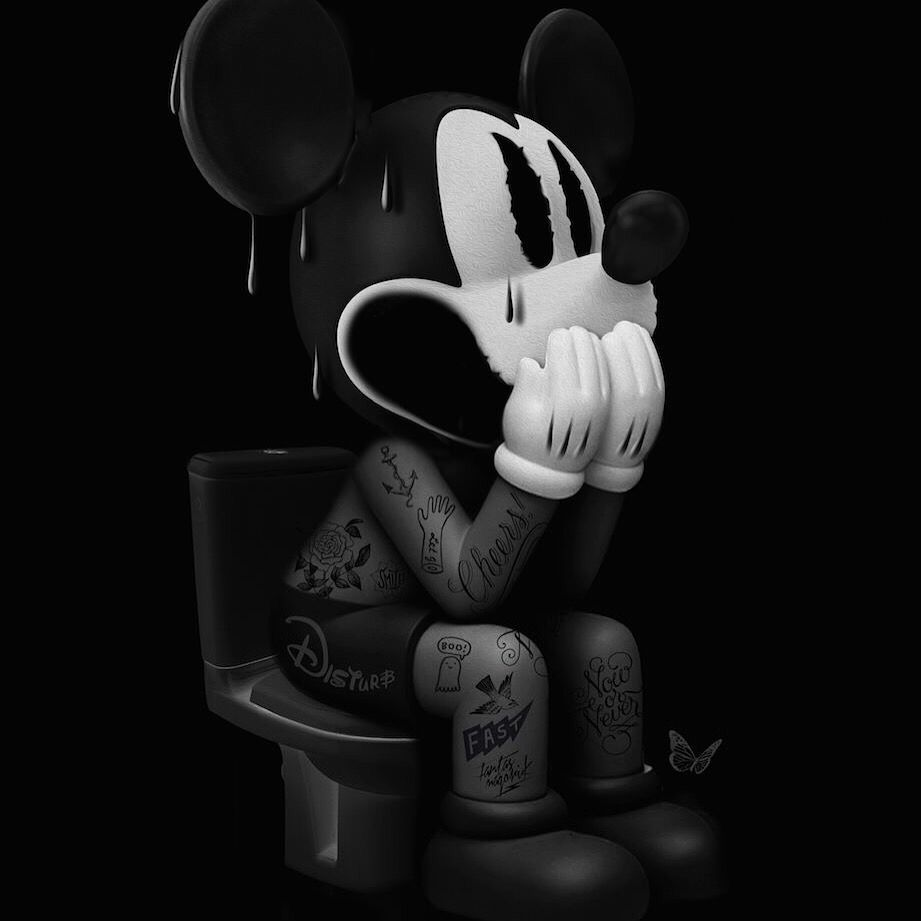 Disturb Mickey by Nicolas Obery
