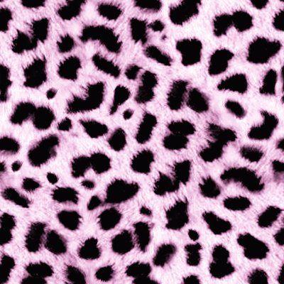 Light Pink Leopard Print
