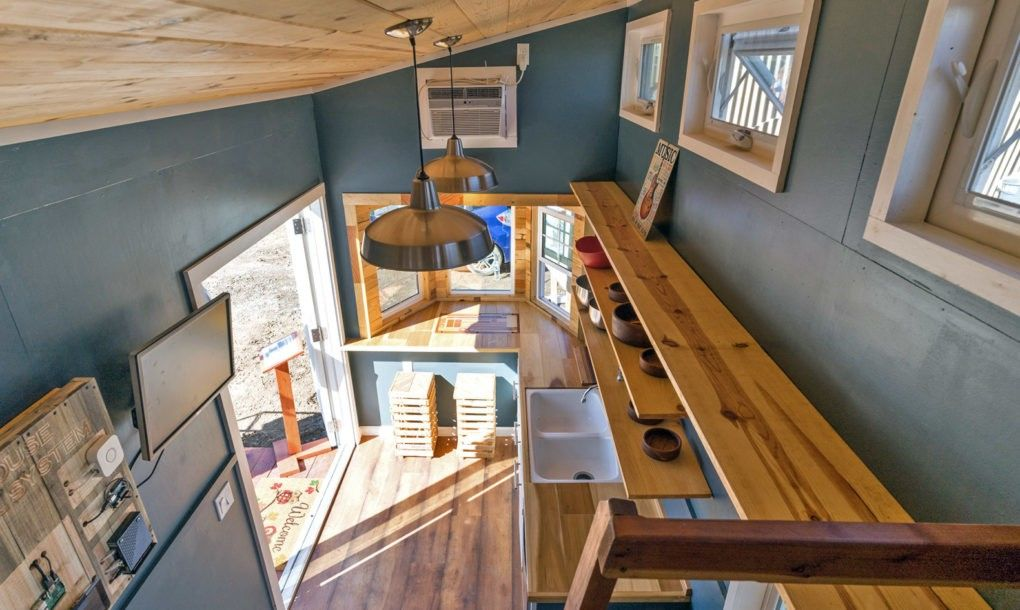 student built solar powered tiny home represents new vision for the rh pinterest com