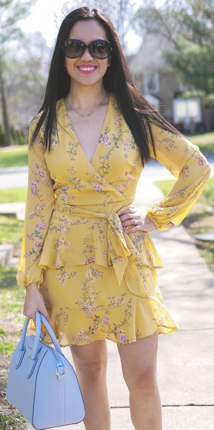The Cutest Floral Dress For Spring | **Bloggers on Pinterest ...