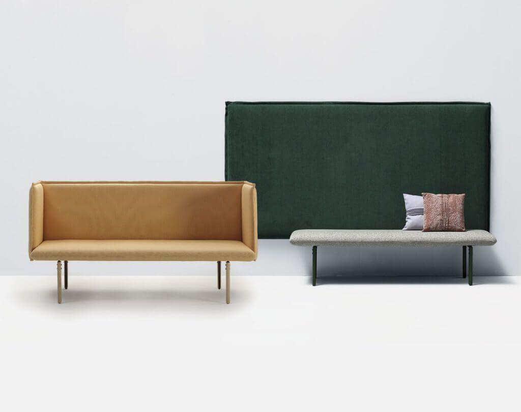 Canape Design Et Modulable Pour Les Espaces Cafe Lounge Et Detente En 2020 Canape Design Lounge Banquette Design