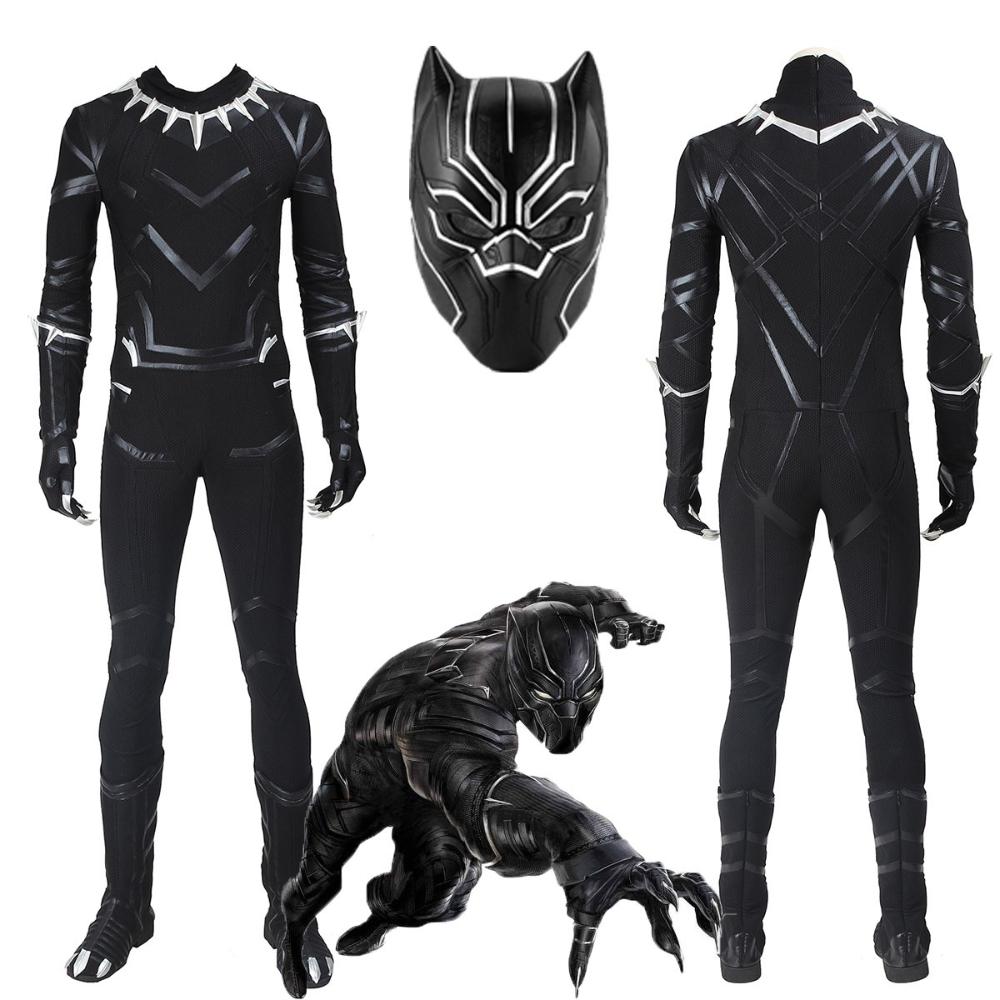 Black Panther Costume Captain America Civil War T Challa Suit Black Panther Costume Captain America Civil Captain America Civil War