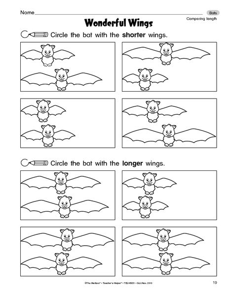 math worksheet : give students measurement practice with this bat themed worksheet  : Bat Math Worksheets