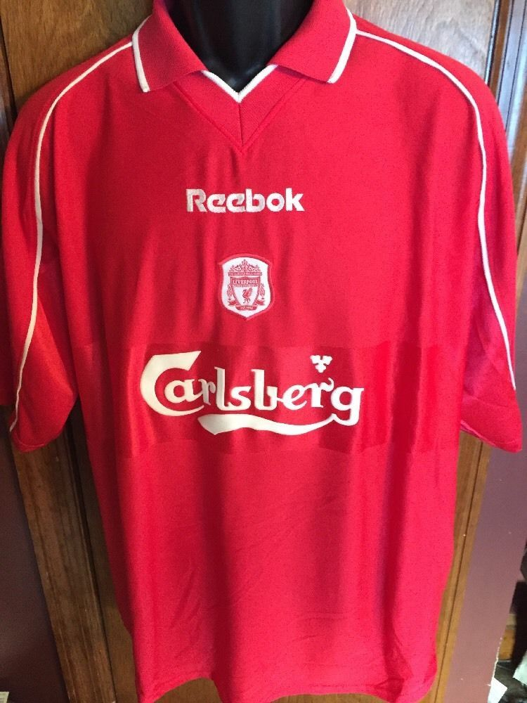 the latest 4bf72 c2e4f Reebok Liverpool Football Club Futbol Soccer Jersey Men Size ...
