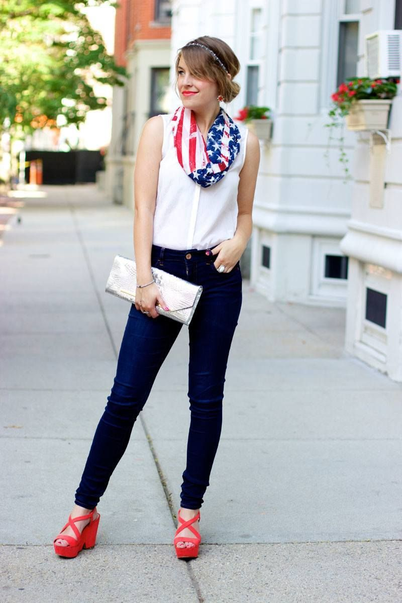 4th of July Outfit – 18 Ideas What to Wear on 4th July 2019