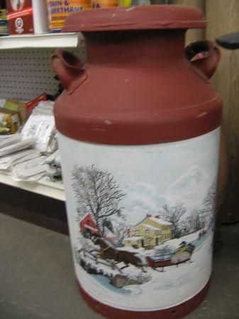 Painted Milk Cans For Sale Yakaz For Sale Painted Milk Cans Milk Cans Old Milk Cans