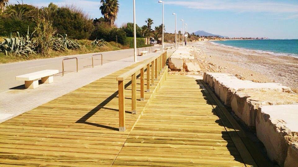 Tarima de madera de pino tratada para exteriores en Benicarló (Castellón)