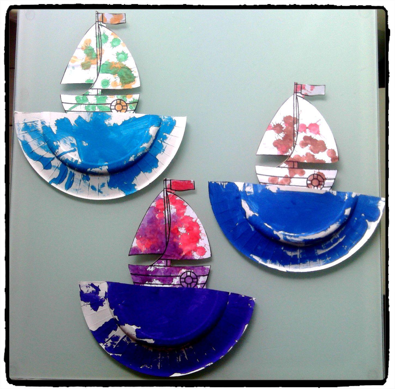 Bateaux Sur Leau Activits La Mer Pinterest