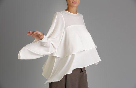 Women Tunic Tops Trendy Plus Size Clothing Asymmetrical Top