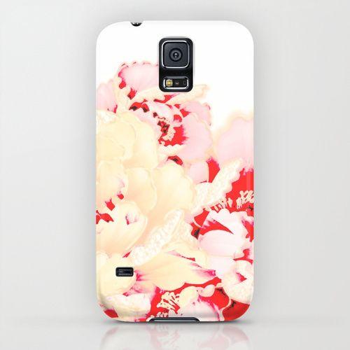 japanese peony iPhone & iPod Case