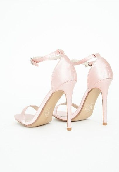 2618ebe1842f Missguided - Clara Snake Print White Strappy Sandal. Strappy High HeelsHeeled  ...