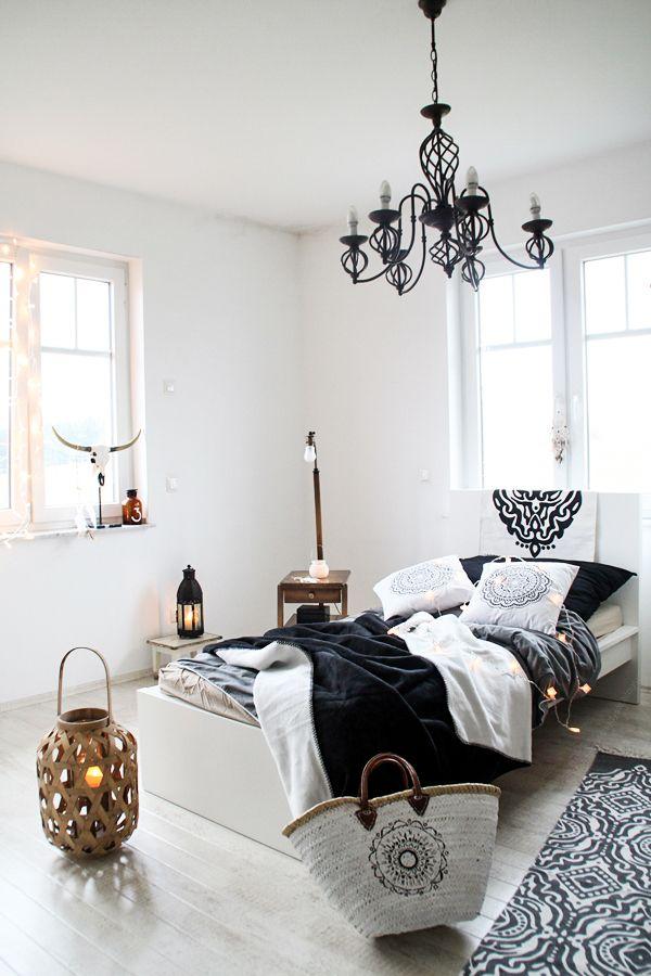 Lady Stil Schlafzimmer im Boho Look oder wie man