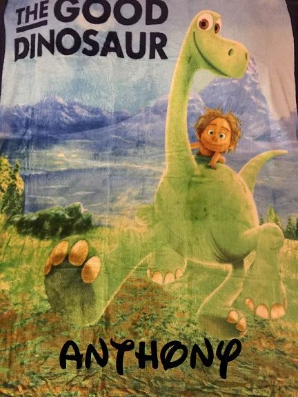 The Good Dinosaur Silky Soft Fleece Throw Blanket 40 X 40 Simple Dinosaur Throw Blanket