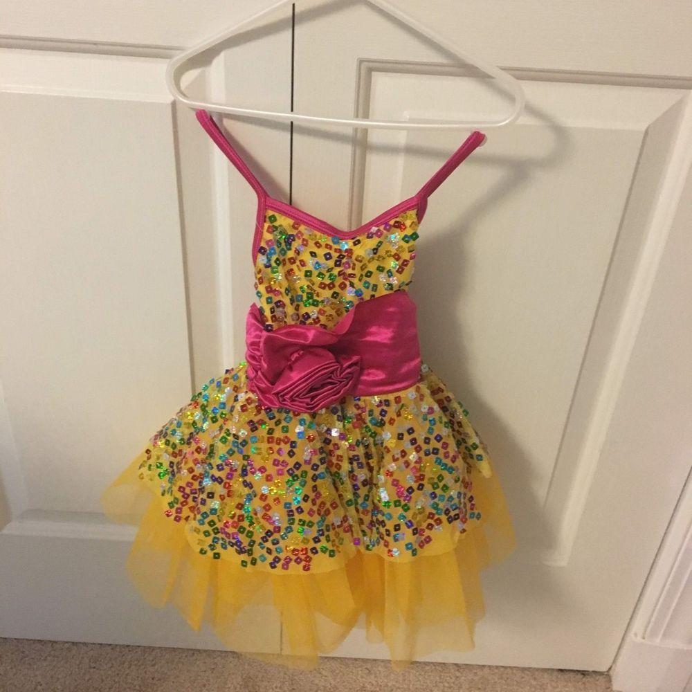 15e76f531 weissman girls dance costume size xsc  fashion  clothing  shoes ...