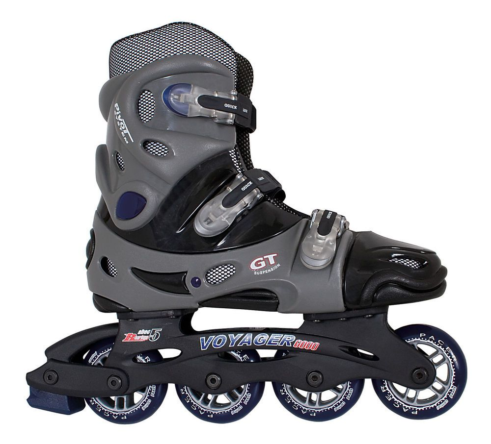 Details About Voyager Indoor Outdoor Inline Roller Blades Men Size 5 12 Children 13j 4 Inline Skating Roller Skating Outdoor Skating