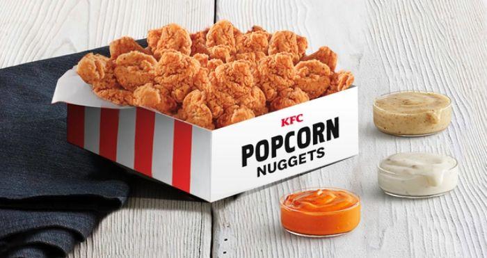 Kfc Have Released A Huge 70 Popcorn Chicken Nuggets Box Popcorn Chicken Chicken Bucket Kfc