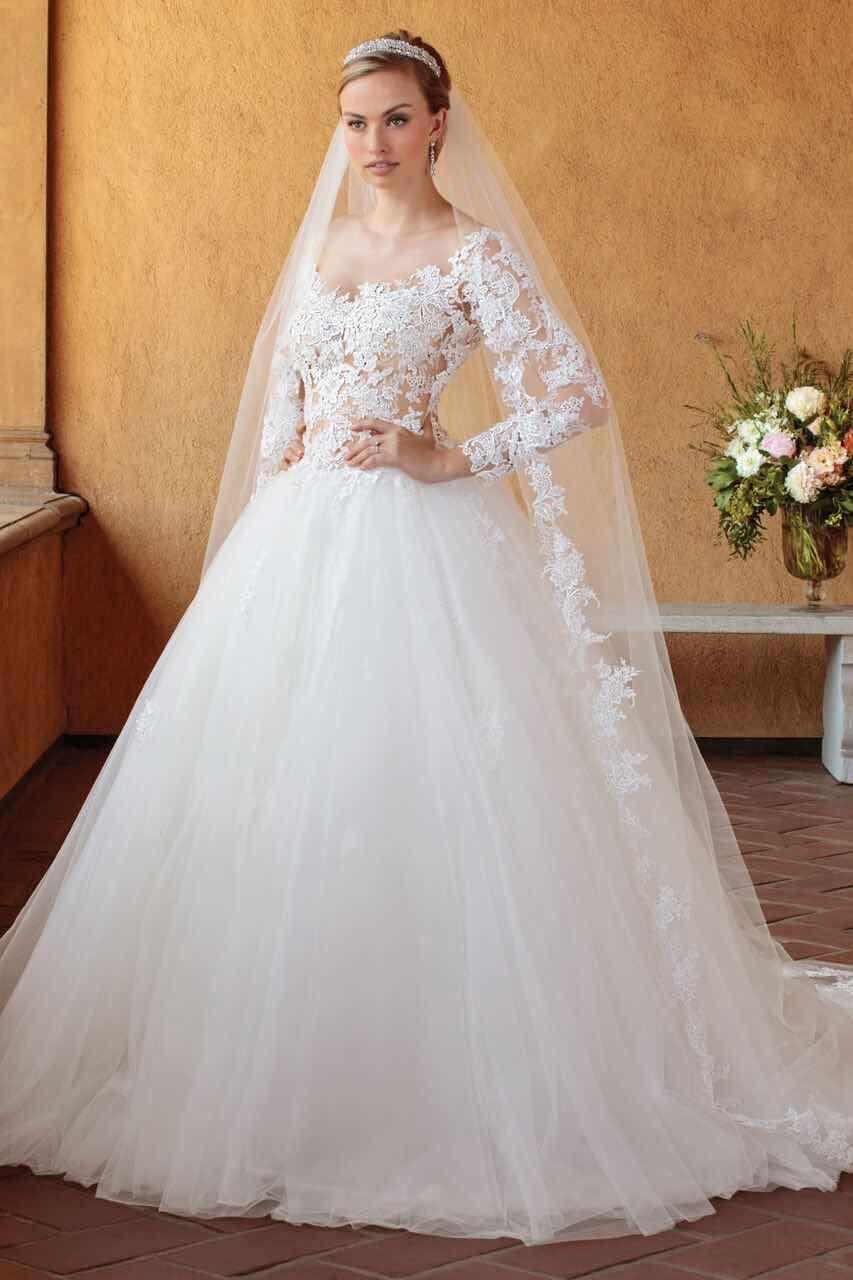 Casablanca Braut Hochzeit Kleider mit raffinierter Eleganz ...
