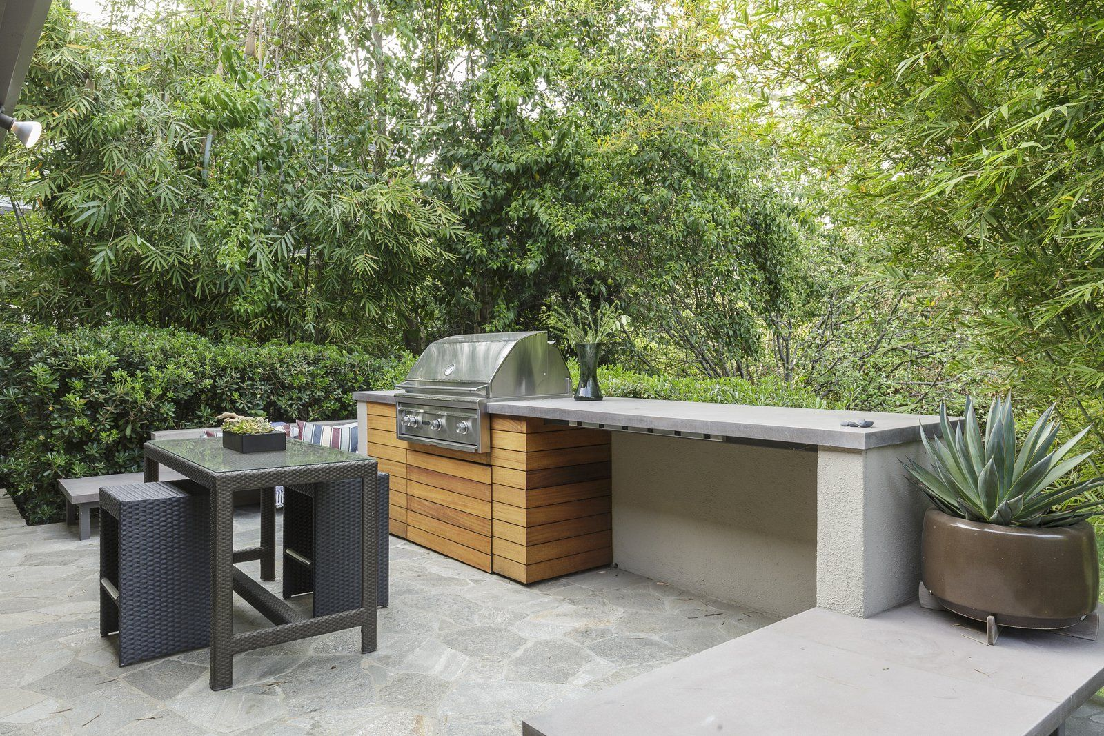Photo of in a southern californian midcentury with japanese