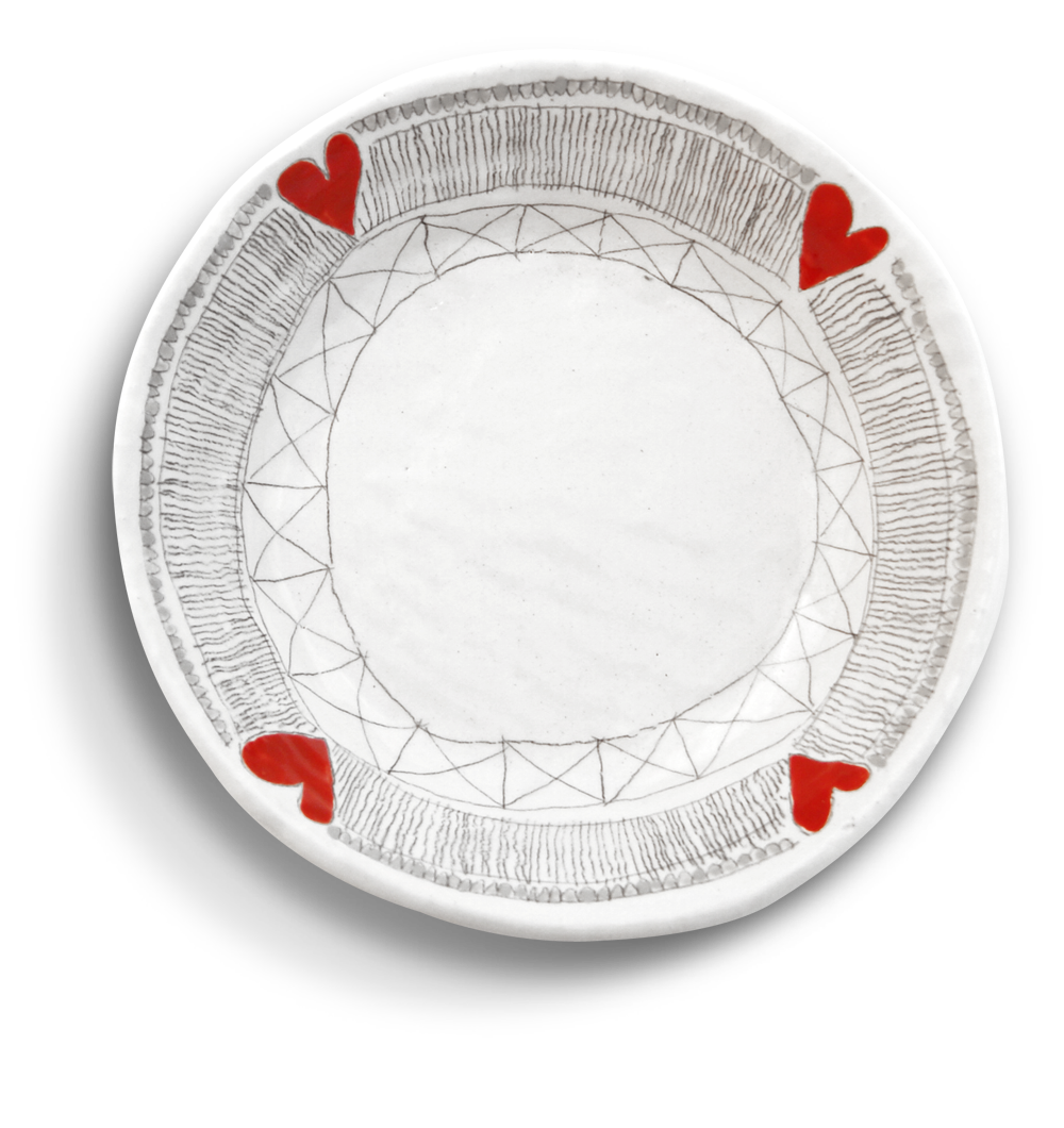 Ceramic plate design ideas the image for Ceramic design ideas