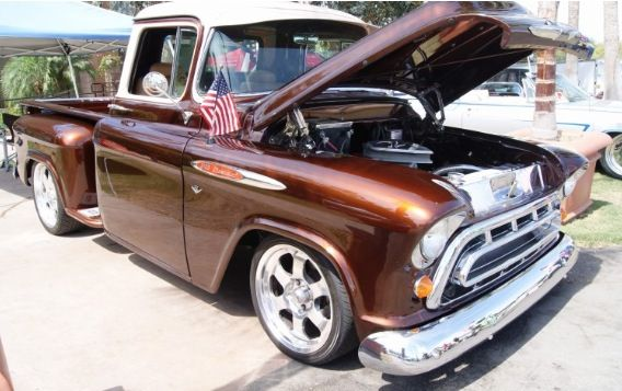 Root Beer Brown Candy Paint Car Painting Ford Trucks Chevy