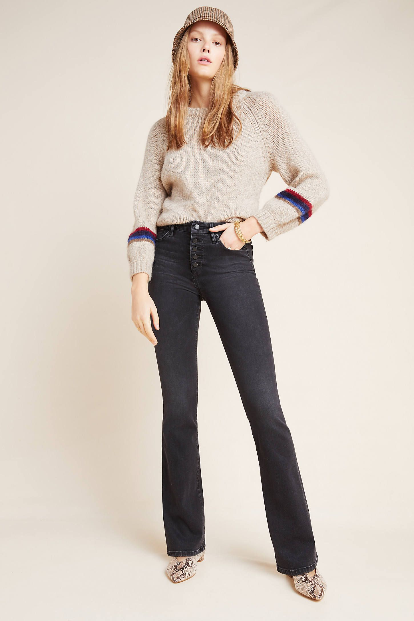 Joe's The Honey High Rise Button Fly Bootcut Jeans by in