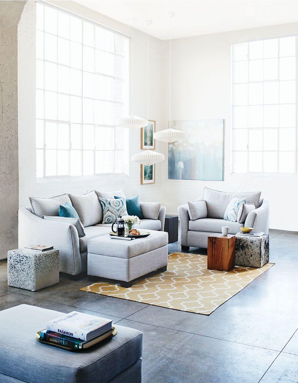Home Living Kori Wide Sofa Hudsons Bay Interior Design