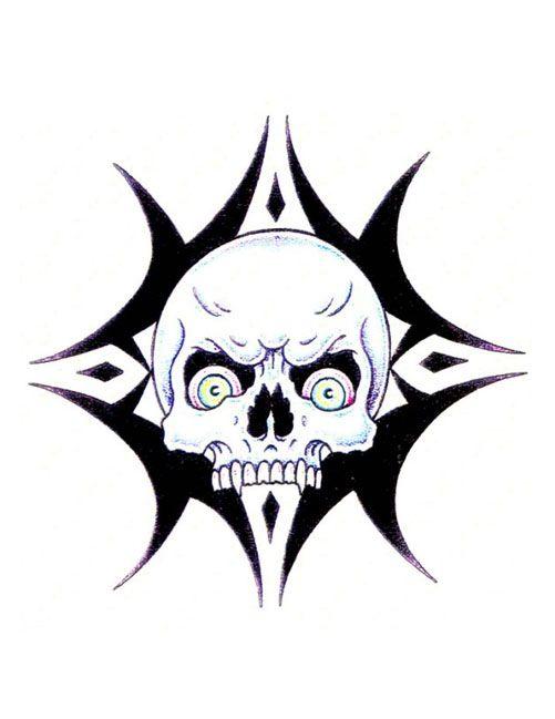 Tribal Skull Tattoo Patterns Tribal Skull Tattoos Designs Skull Tattoo Design Skull Tattoos Tribal Skull