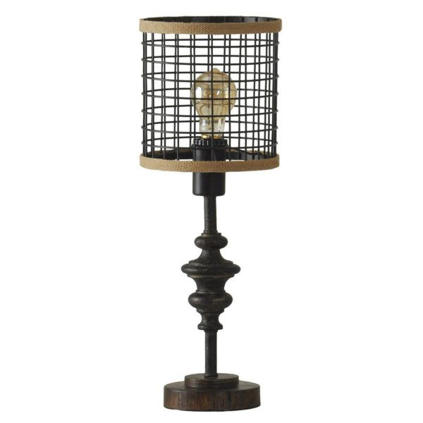 Stylecraft L13292 Cage Shade Mini Lamp Hope Home Furnishings And Flooring Cage Table Lamp Metal Table Lamps Black Table Lamps