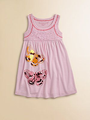 Design History Toddlers & Little Girls Butterfly Dress; Stella's bday present