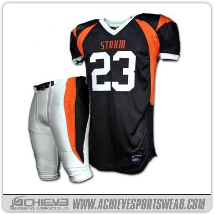 Achieve American football uniform 4b22626a8