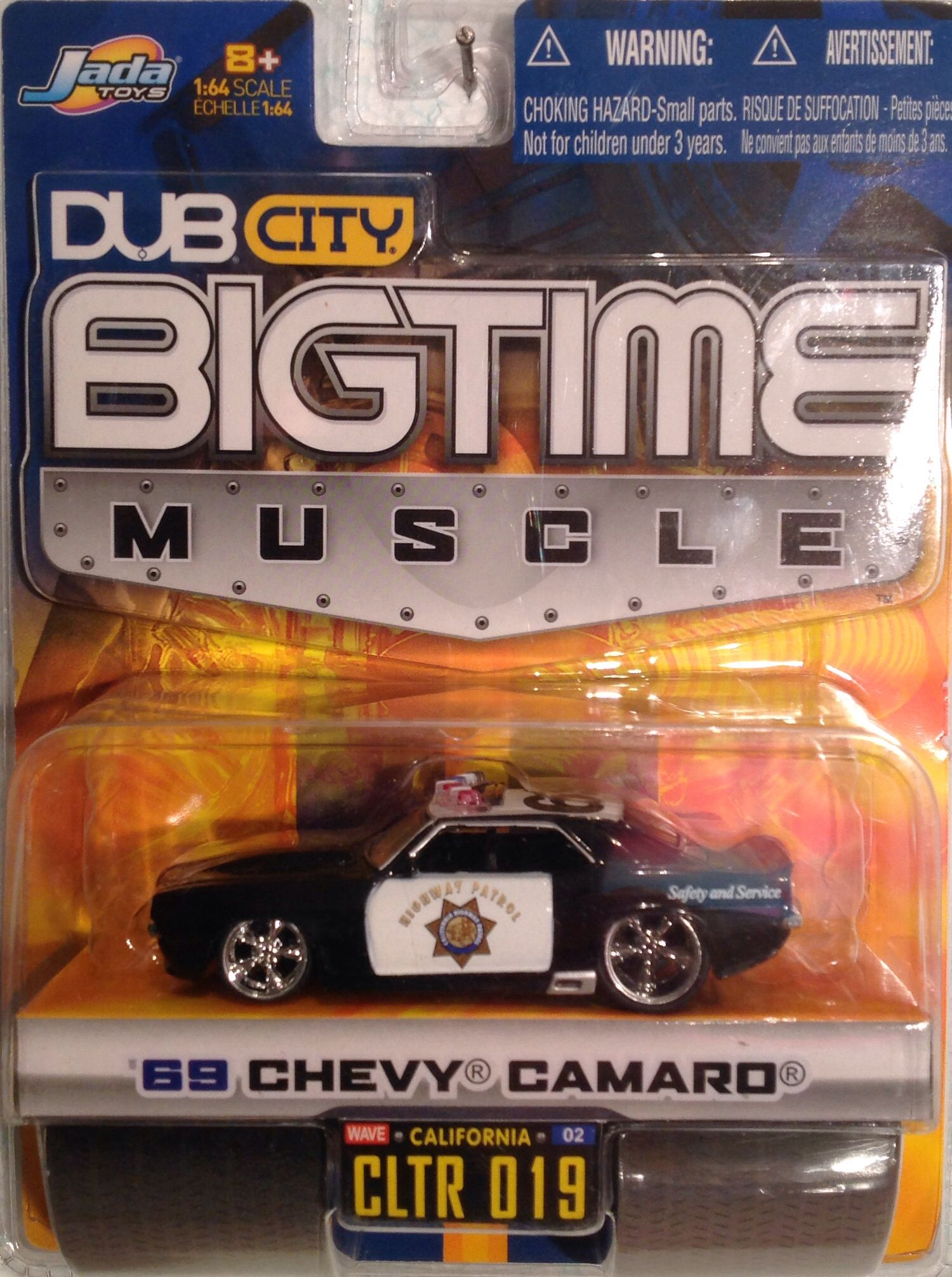 Jada car toys  Jada Dub City Bigtime Muscle  Chevy Camaro  diecast  jada