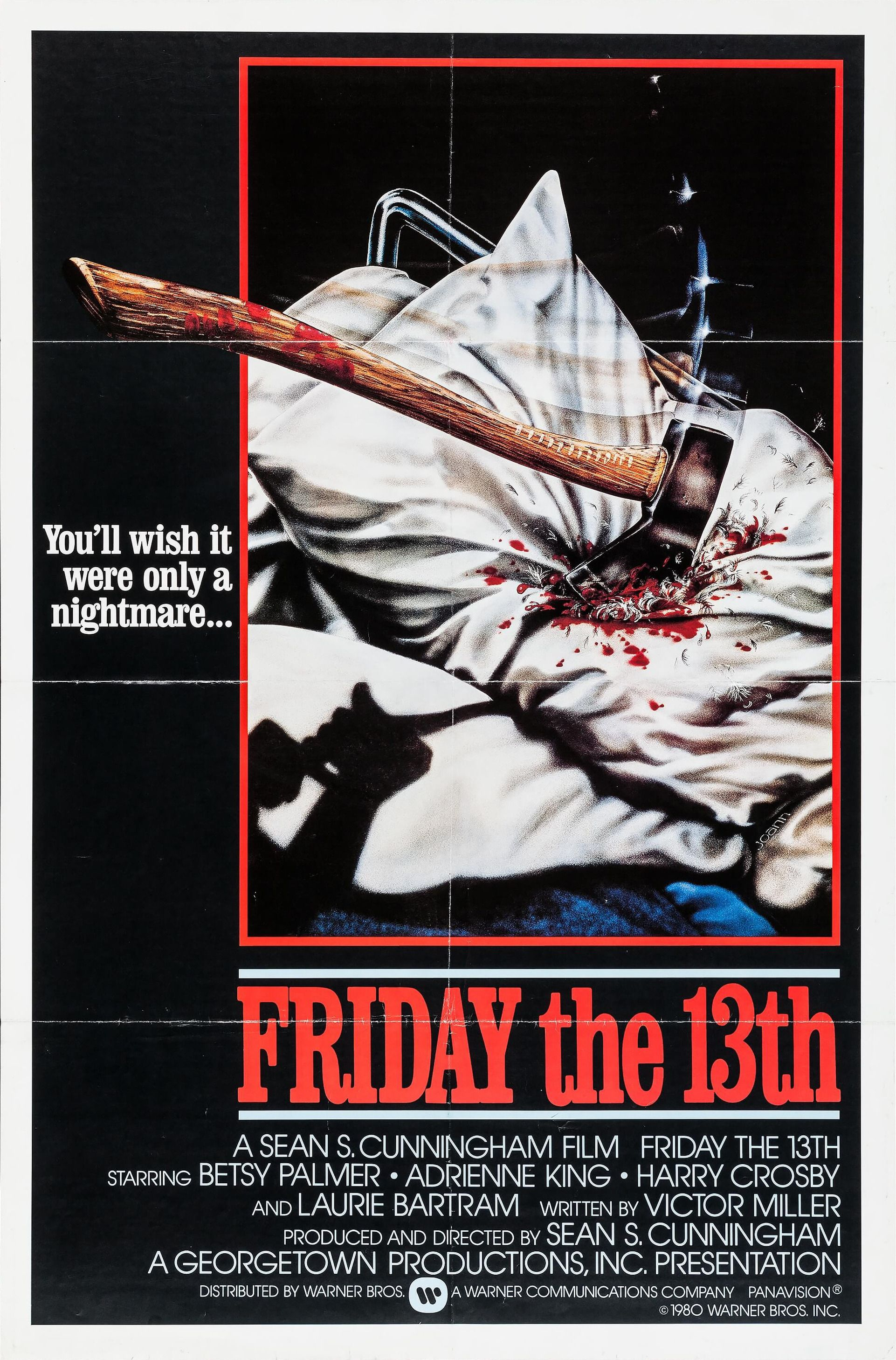 Friday the 13th 1980 in 2020 friday the 13th poster