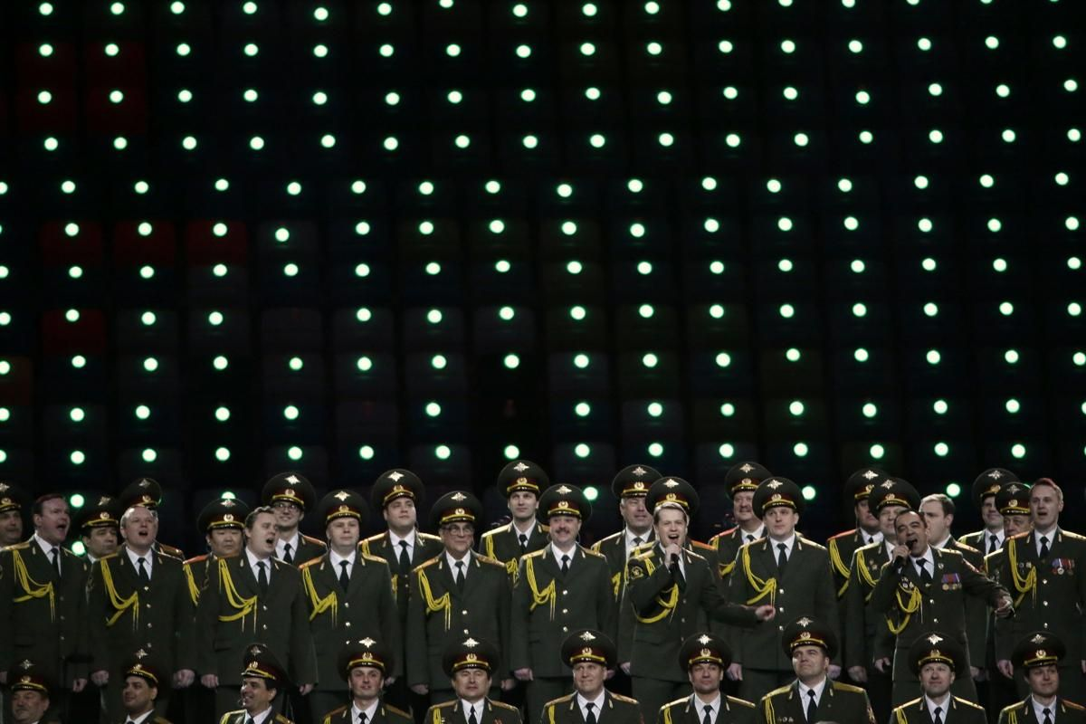 SOCHI 2014 Opening Ceremony Russian Choir PICTURES PHOTOS and IMAGES